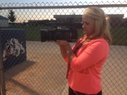 KFVS12: Shooting Notre Dame baseball for highlights