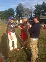 KFVS12: Interviewing baseball player