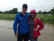 Hanging out on a flood story with Mike Bettes