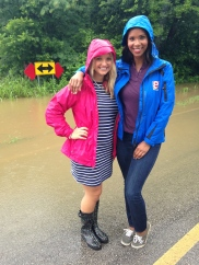 Helping Franque cover a flooding story (KTUL)